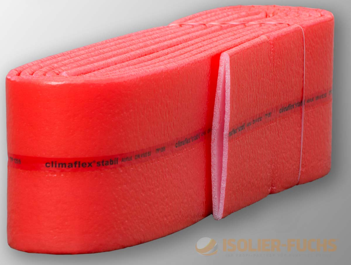 2 Meter 28x9mm Climaflex PE Rohrisolierung D/ämmung Isolierschlauch